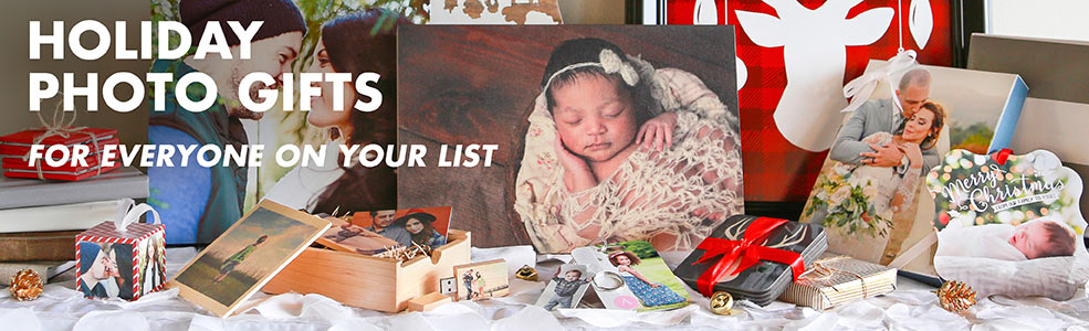 Holiday Photo Gifts for everyone on your lists
